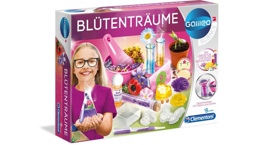 Clementoni Galileo Bluetentraeume