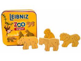 Tanner Leibniz ZOO Tiere aus Holz in Metalldose