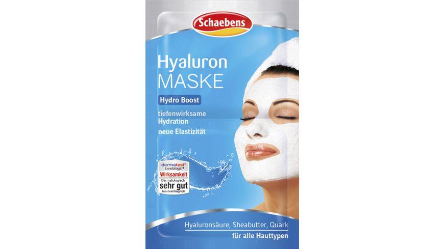 Schaebens Maske Hyaluron
