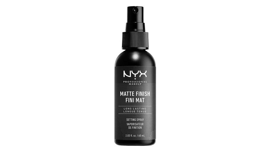 NYX PROFESSIONAL MAKEUP Make Up Setting Spray Matt