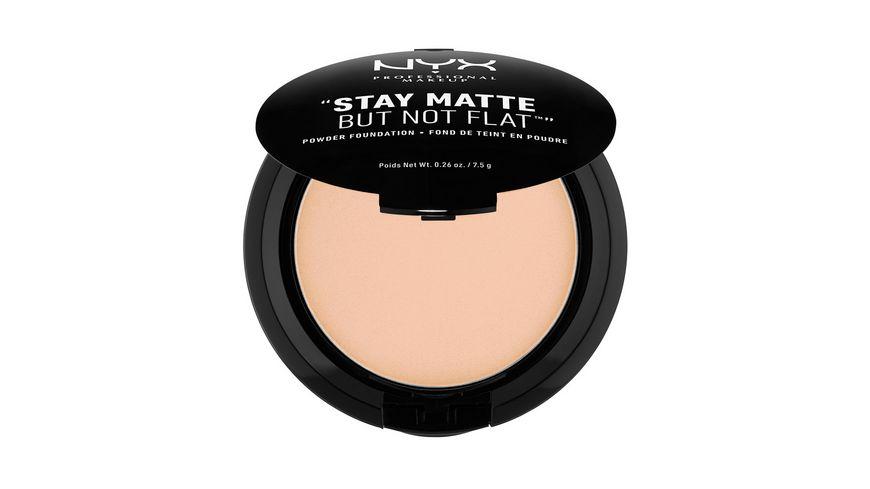 NYX PROFESSIONAL MAKEUP Stay Matte But Not Flat Powder Foundation