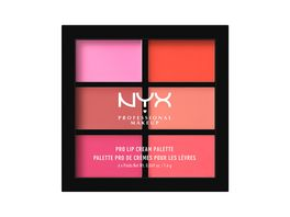 NYX PROFESSIONAL MAKEUP Pro Lip Cream Palette