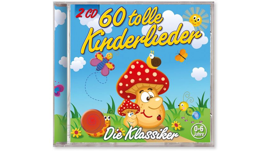 60 Tolle Kinderlieder 2 CDs