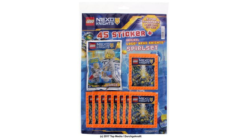 Blue Ocean Lego Nexo Knights Multipack Sticker
