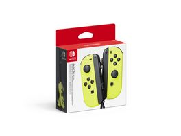 Nintendo Switch Joy Con 2er Set Neon Gelb