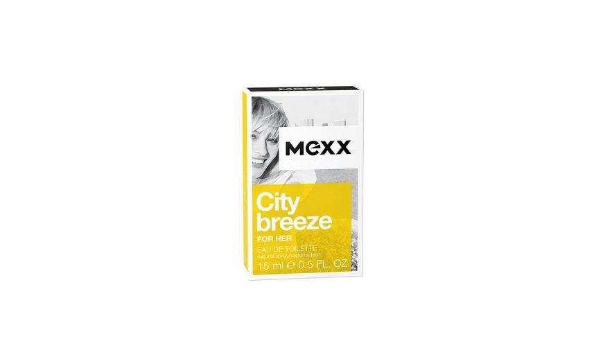 MEXX City Breeze for her Eau de Toilette Natural Spray