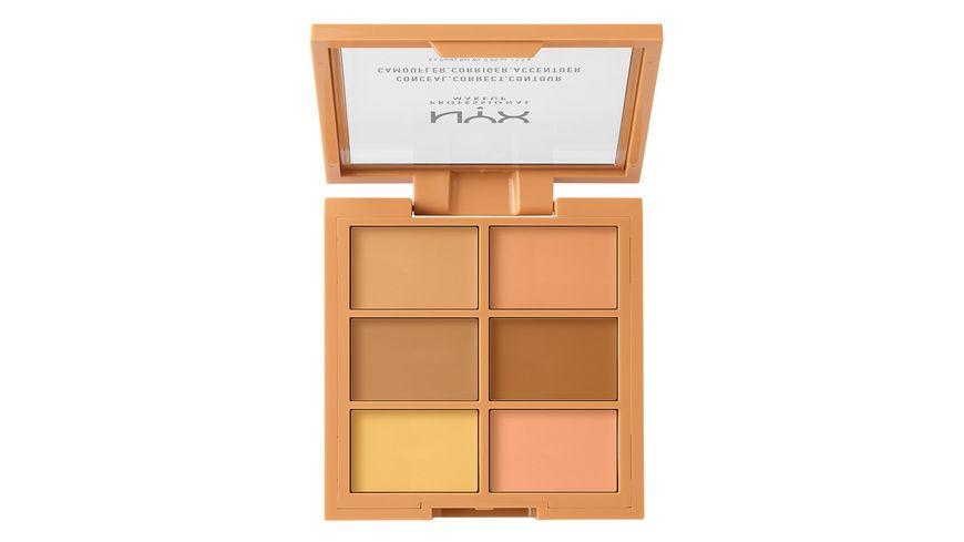 NYX PROFESSIONAL MAKEUP Concealer 3C Palette Conceal Correct Contour