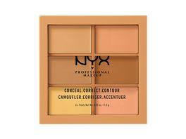 NYX PROFESSIONAL MAKEUP Concealer 3C Palette Conceal Crrect Contour