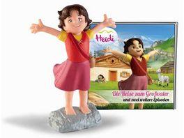 tonies Hoerfigur fuer die Toniebox Heidi Die Reise zum Grossvater