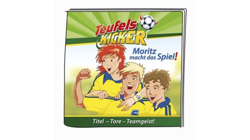 tonies Hoerfigur fuer die Toniebox Moritz macht das Spiel