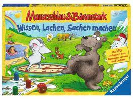 Ravensburger Spiel Mauseschlau Baerenstark Wissen Lachen Sachen machen