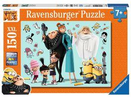 Ravensburger Puzzle Minions Gru und seine Familie XXL 150 Teile