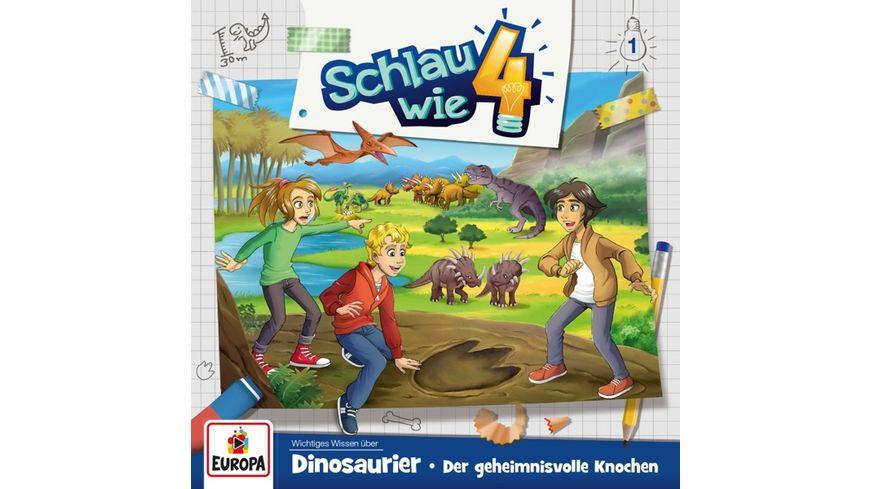 001 Dinosaurier Der geheimnisvolle Knochen