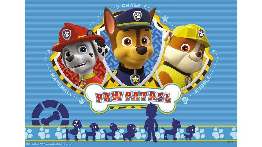 Ravensburger Puzzle Ryder und Paw Patrol 2 x 12 Teile