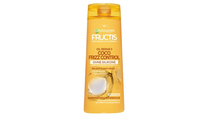 FRUCTIS Shampoo Oil Repair 3 Coco Frizz Control Kraeftigend