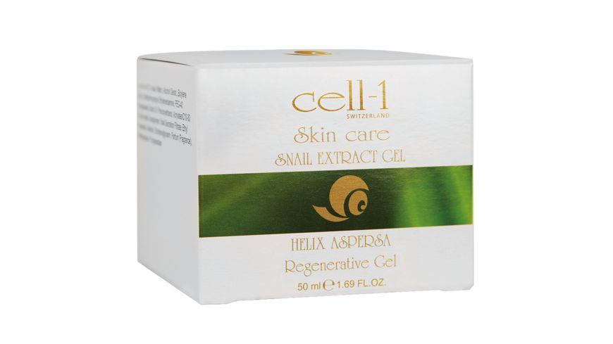cell 1 Zellregenerierendes Hautgel mit Schneckenextrakt