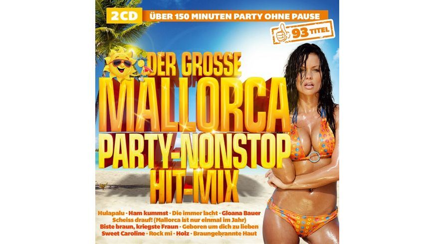 Der grosse Mallorca Party Nonstop Hit Mix