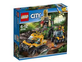 LEGO City 60159 Mission mit dem Dschungel Halbkettenfahr