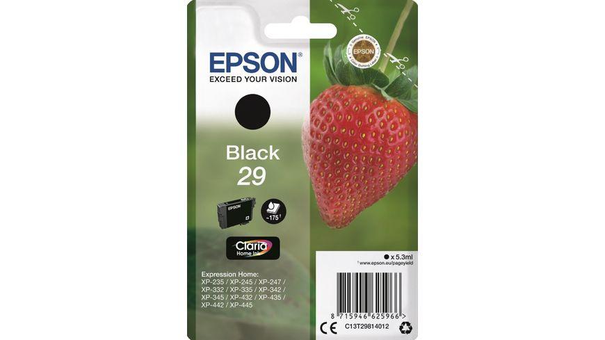Epson Druckerpatrone T2981 Erdbeere