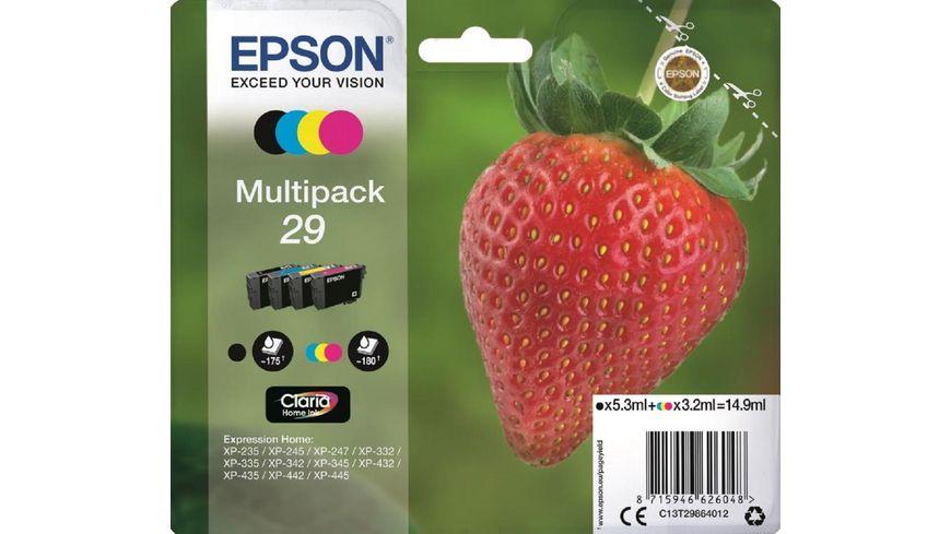 Epson Druckerpatrone T2986 Erdbeere Multipack