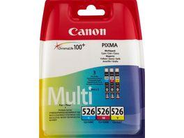 Canon Druckerpatrone CLI 526 Multipack