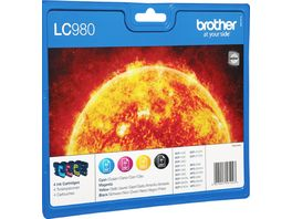 Brother Druckerpatrone LC 980 Multipack