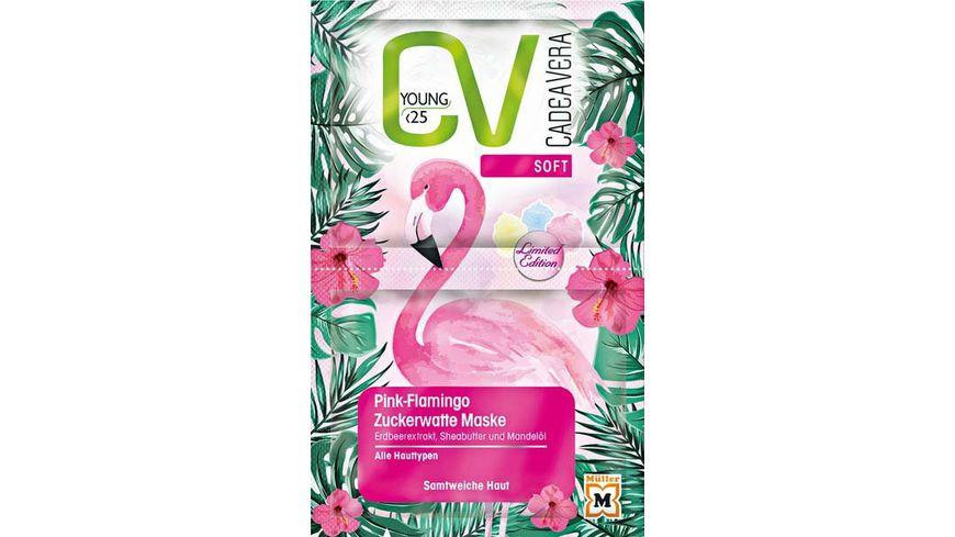 CV Young Soft Pink Flamingo Zuckerwatte Maske