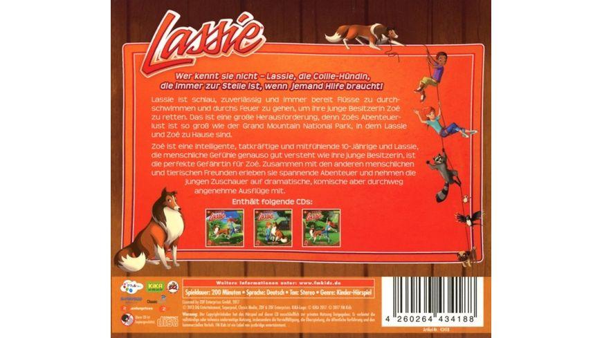 Lassie Hoerspiel Box 1 3 CDs