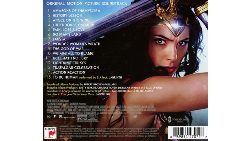 Wonder Woman OST