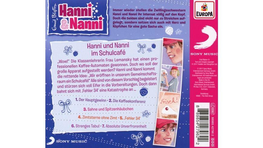 055 Hanni und Nanni im Schulcafe