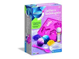 Clementoni Galileo Seifen und Badekugeln
