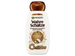 GARNIER Wahre Schaetze Shampoo Kokosmilch Naehrend