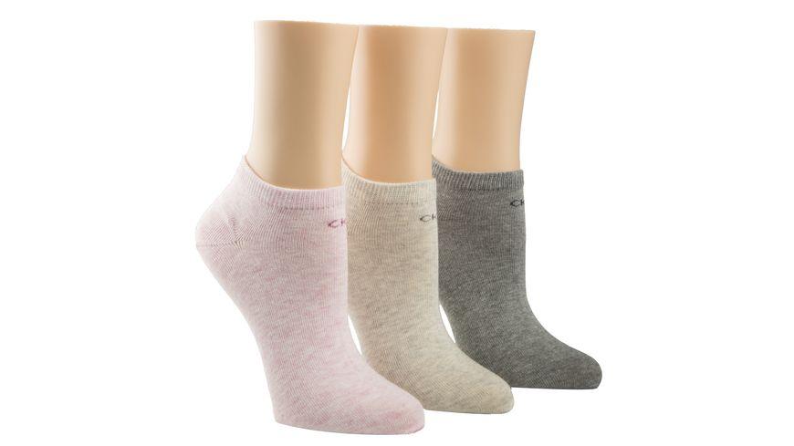 Calvin Klein Damen Sneaker Socken 3er Pack