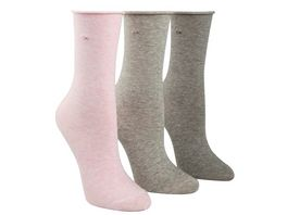 Calvin Klein Damen Socken Crew Emma 3er Pack