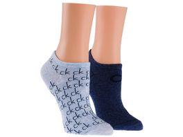 Calvin Klein Damen Sneaker Socken 2er Pack