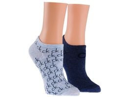 Calvin Klein Damen Sneakersocken 2er Pack