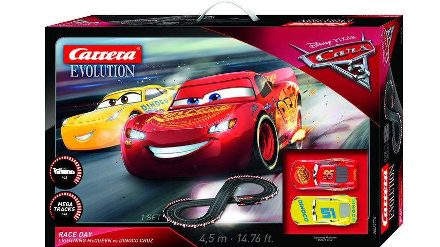 Carrera Evolution Disney Pixar Cars 3 Race Day