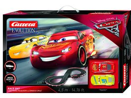 Carrera Evolution Disney Pixar Cars 3 Race Day