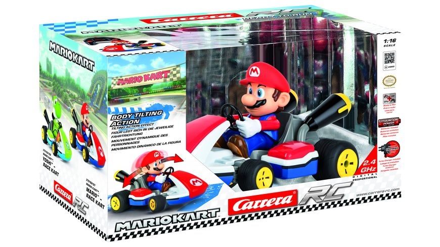 Carrera RC Mario Kart Mario Race Kart mit Sound