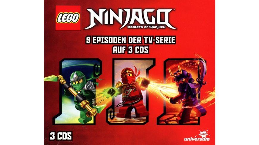 Lego Ninjago Hörspielbox 3 Online Bestellen Müller