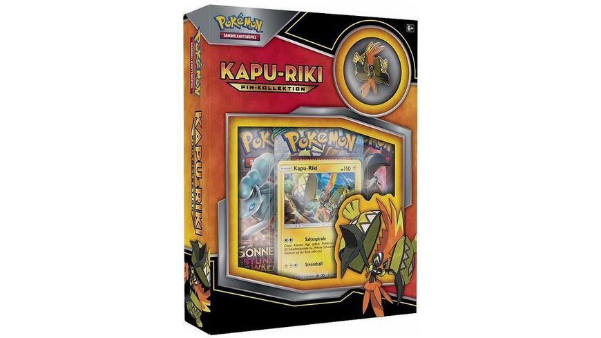 Pokemon Sammelkartenspiel Kapu Riki Pin Box