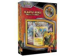 Pokemon Sammelkartenspiel Kapu Riki Pin Box