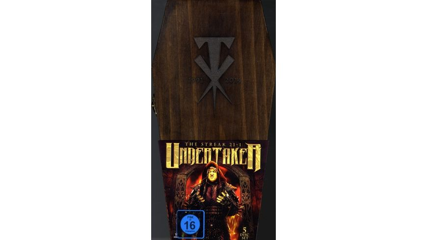 Undertaker Coffin Box DVD