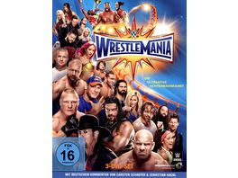 WWE Wrestlemania 33 DVD
