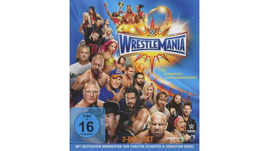WWE Wrestlemania 33 Blu ray Disc