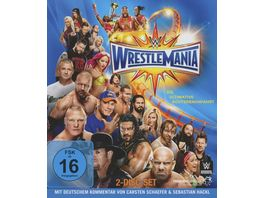WWE Wrestlemania 33 Blu ray Disc