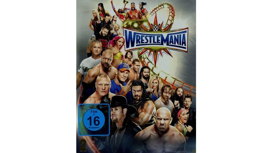WWE Wrestlemania 33 Special Edition Blu ray Disc