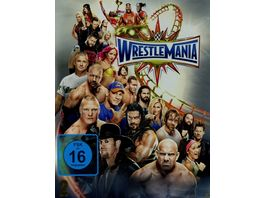 WWE Wrestlemania 33 Special Edition Blu ray Disc