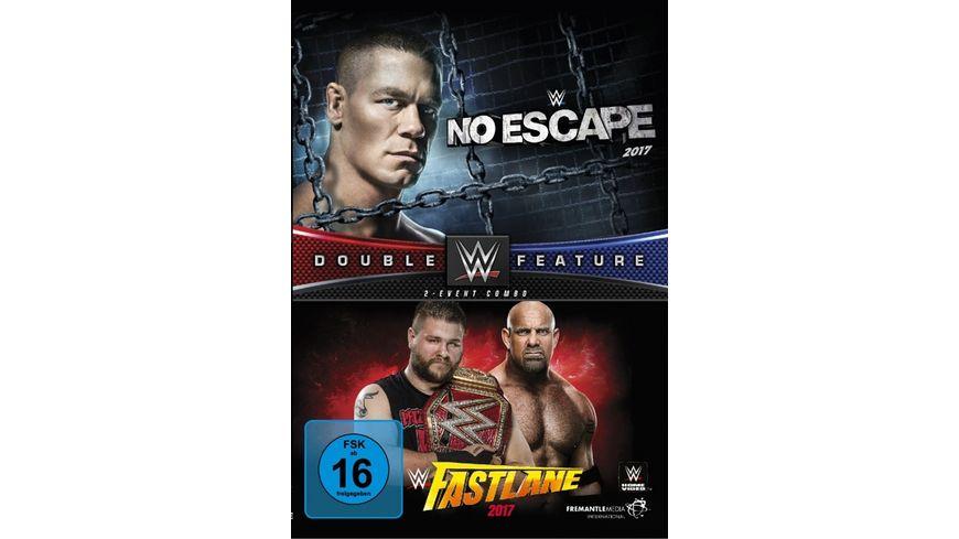 No Escape Fastlane 2017 Double Feature DVD