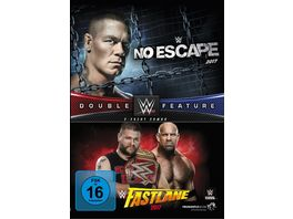 No Escape Fastlane 2017 Double Feature DVD